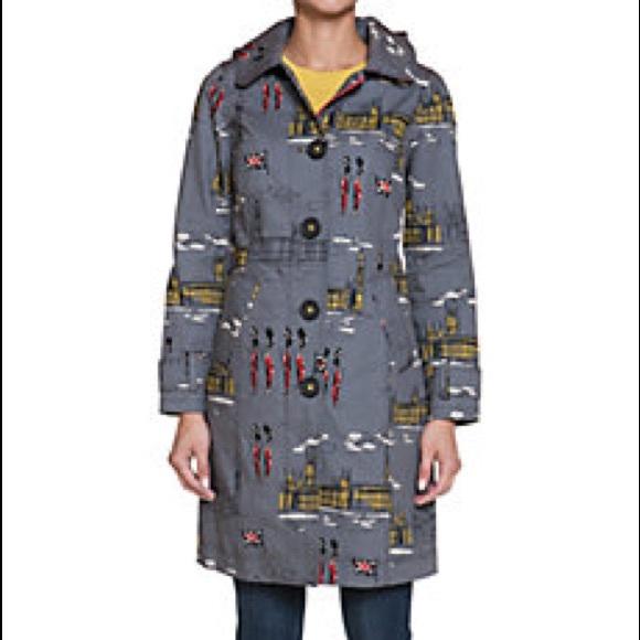 21b160832f Boden Jackets   Blazers - Boden Rainy Day Mac Westminster print